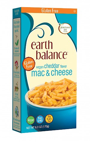 Earth Balance Gluten-Free Mac & Cheese Vegan Cheddar Flavor