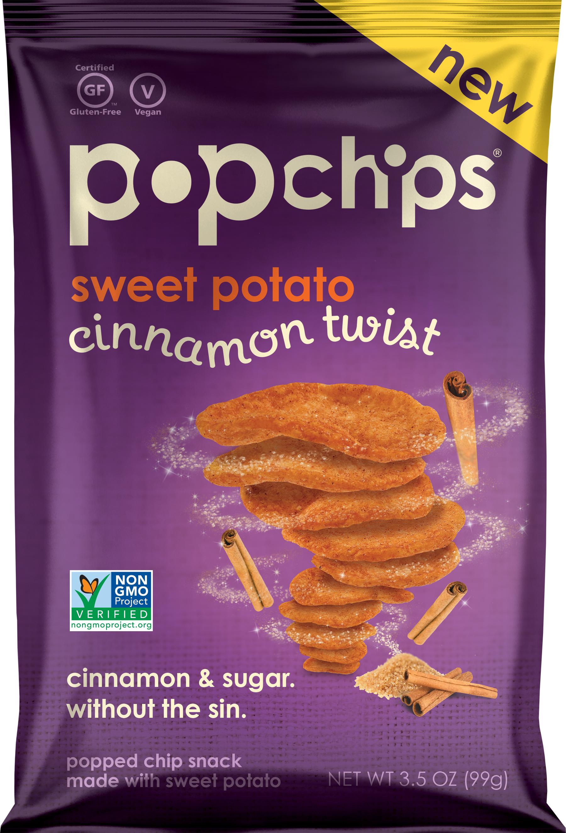 popchips: Cinnamon Twist Sweet Potato