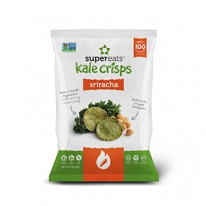 SuperEats Kale Crisps Sriracha is a HIT