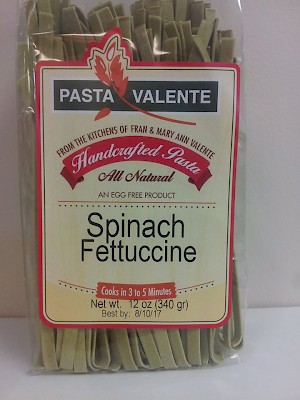 Pasta Valente Fettuccine Spinach is a HIT