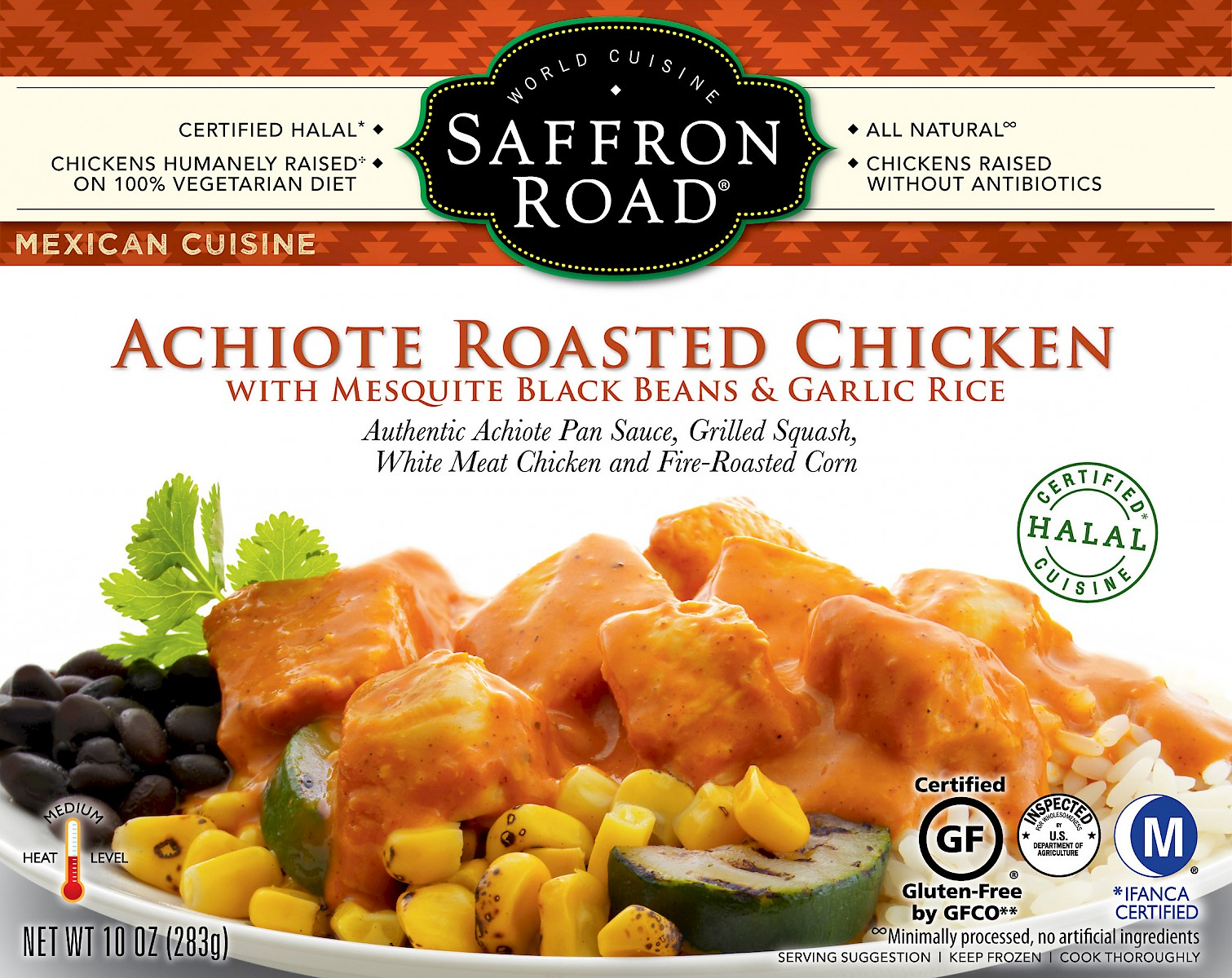 Saffron Road Mexican Cuisine Achiote Roasted Chicken is a Hit