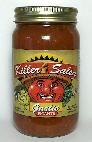 Panchitas Inc. Killer Salsa Garlic is a Hit
