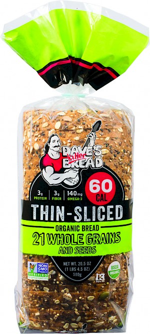 Dave's Killer Bread Thin-Sliced 21 Whole Grains & Seeds