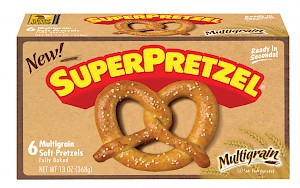 SUPERPRETZEL Multigrain Soft Pretzel is a HIT