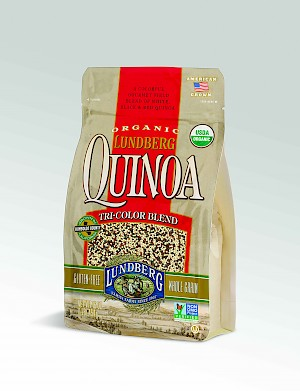 Lundberg Family Farms Organic Quinoa Tri-Color Blend is a HIT!