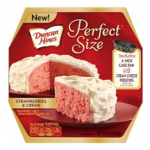 Duncan Hines Perfect Size Strawberries & Creme is a MISS