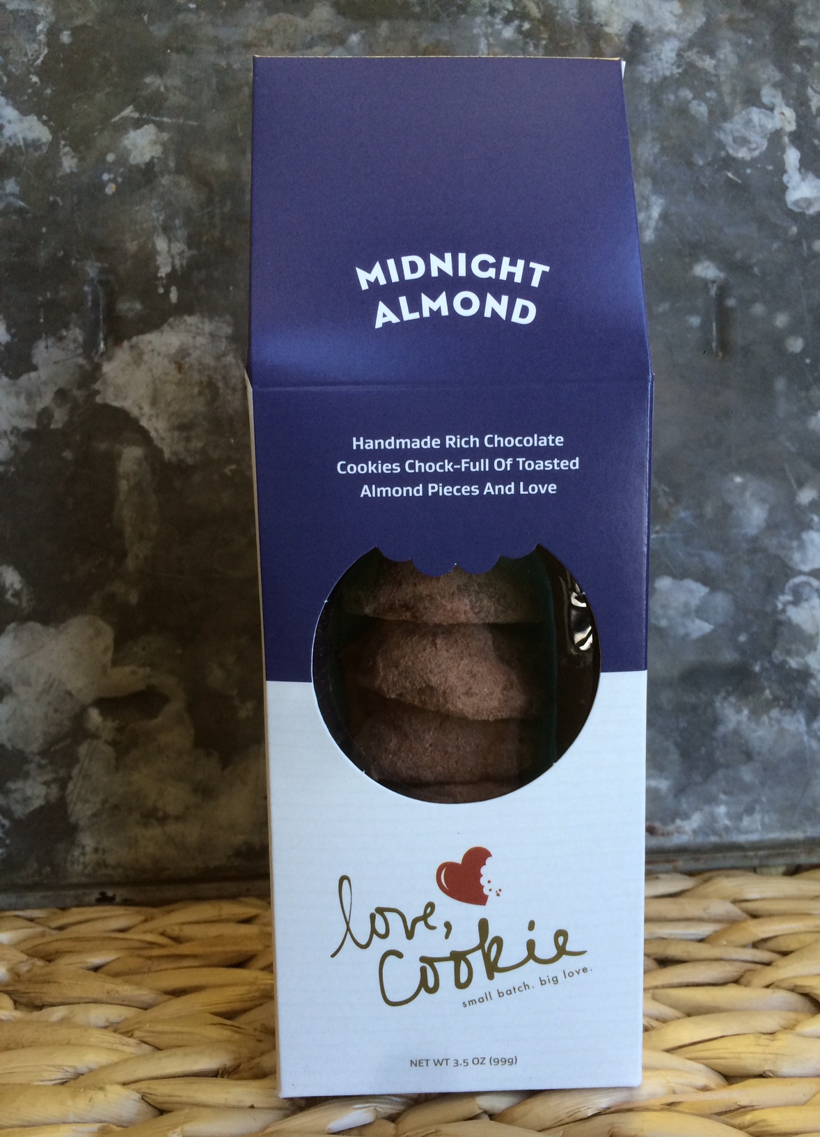 Love, Cookie: Midnight Almond Cookies