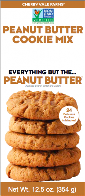 Cherryvale Farms Cookie Mix Peanut Butter is a HIT