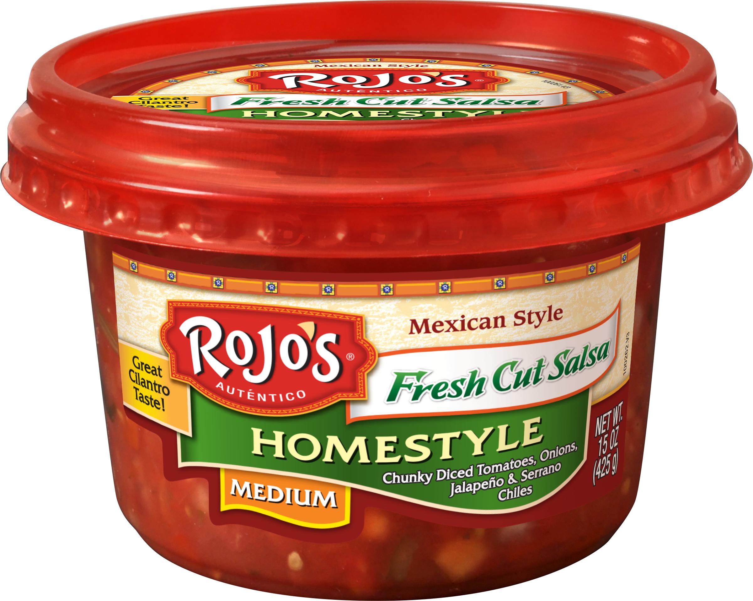 Rojo's: Fresh Cut Homestyle Salsa