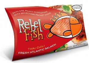 Rebel Fish Fresh Atlantic Salmon Chili is a HIT