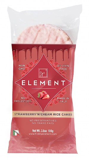 Sy Element Rice Cakes Strawberry'n'Cream is a HIT