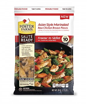 Foster Farms Sauté Ready Asian Style is a HIT