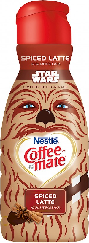 Nestle Coffee-mate Star Wars Limited Edition Chewbacca Spiced Latte