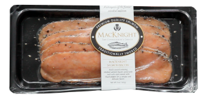 MacKnight Smoked Salmon Bacon is a HIT