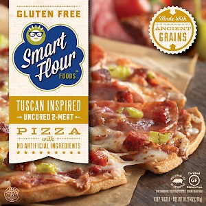 Smart Flour Foods Tuscan Inspired Pizza Uncured Two Meat