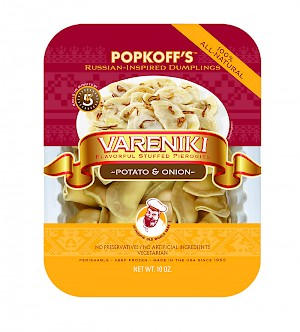 Popkoff's Vareniki Potato & Onion is a HIT!