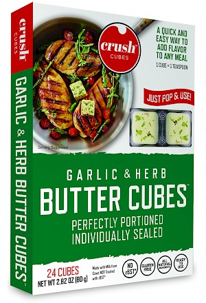 Crush Cubes Garlic Herb Butter Cubes is a HIT