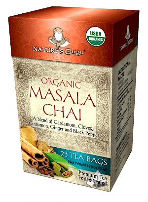 Nature's Guru Organic Masala Chai is MY PICK OF THE WEEK!