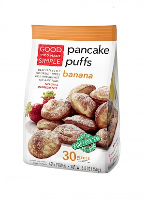 Good Food Made Simple Pancake Puffs Banana is a HIT