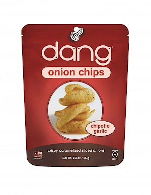 Dang Foods Onion Chips Chipotle Garlic is a HIT!