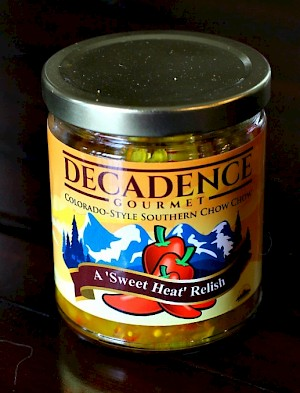 Decadence Gourmet 'Colorado-Style' Southern Chow Chow is a HIT!