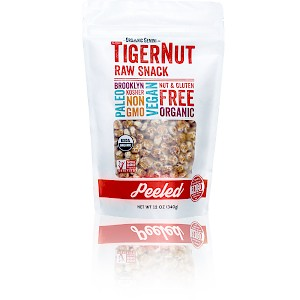 Organic Gemini Peeled TigerNut Raw Snack Original is a HIT!