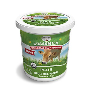 Organic Valley Grassmilk Yogurt Plain is a HIT!