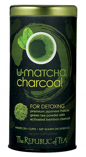 The Republic of Tea U•Matcha® Charcoal is a HIT.