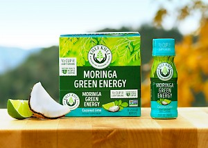 Kuli Kuli Moringa Green Energy Shot Coconut Lime