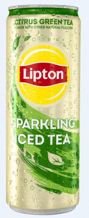 Lipton Sparkling Iced Tea Citrus Green Tea