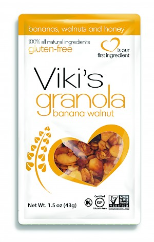 Viki's Granola Banana Walnut Snack Packs is a HIT!