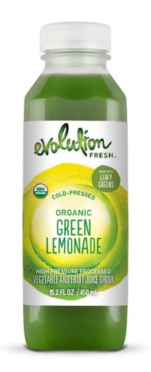 Evolution Fresh Organic Green Lemonade is a HIT!