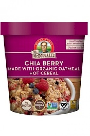 Dr. McDougall's Right Foods Superfood Hot Cereal Cups Chia Berry is MY PICK OF THE WEEK!