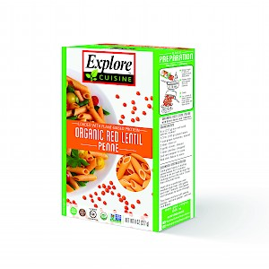 Explore Cuisine Penne Red Lentil is a HIT!