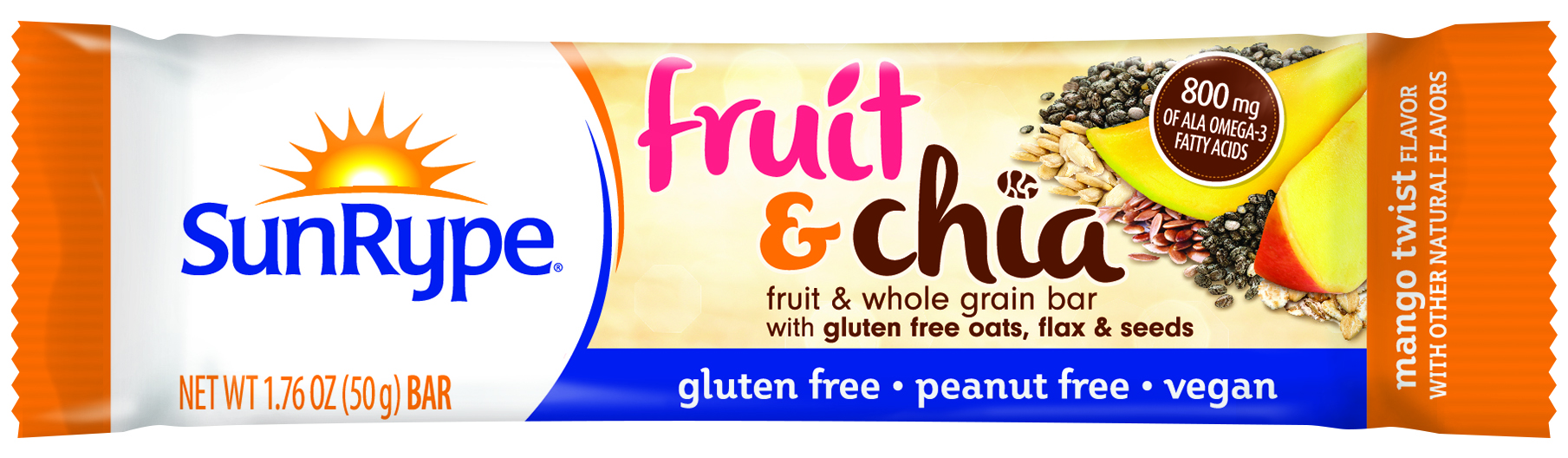 SunRype: Fruit & Chia - Fruit & Whole Grain Bar