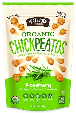 Watusee Foods Organic Chickpeatos Rosemary is MY PICK OF THE WEEK!