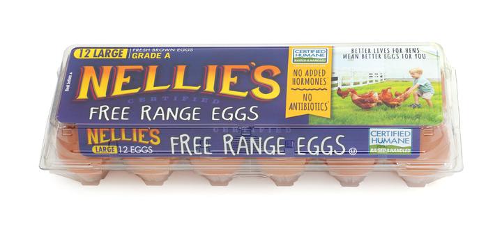 Nellie's: Free Range Eggs