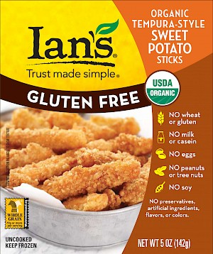 Ian's Gluten Free Organic Sweet Potato Sticks Savory is a HIT!