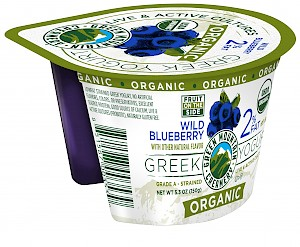 Green Mountain Creamery Organic 2% Greek Yogurt Wild Blueberry is a HIT!