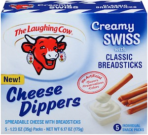The Laughing Cow Cheese Dippers Creamy Swiss is a HIT!