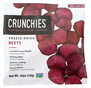 Crunchies Freeze-Dried Beets is a HIT!