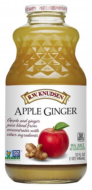 R.W. Knudsen Family Apple Ginger Juice is MY PICK OF THE WEEK.