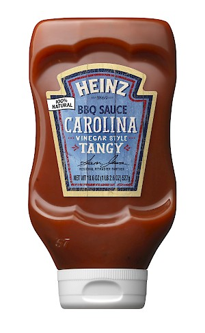 Heinz BBQ Sauce Carolina Vinegar Style Tangy is a HIT!