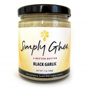 Simply Ghee Black Garlic Ghee is a HIT!