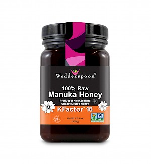 Wedderspoon 100% Raw Manuka Honey KFactor 16 is a HIT!