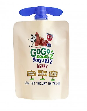 GoGo squeeZ YogurtZ Berry is a HIT!