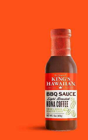 King's Hawaiian BBQ Sauce Light Roasted Kona Coffee is a HIT!