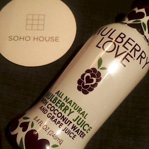 Mulberry Love Mulberry Blend Coconut Water Grape Juice is a HIT!