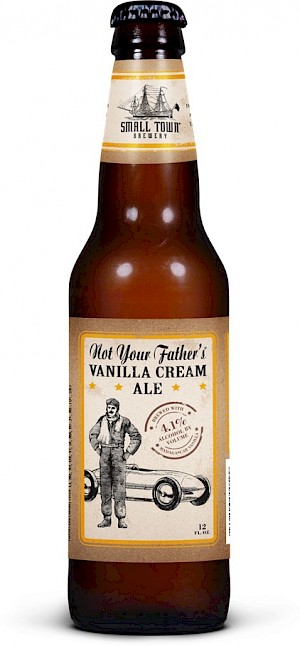 Small Town Brewery Not Your Father's Vanilla Cream Ale