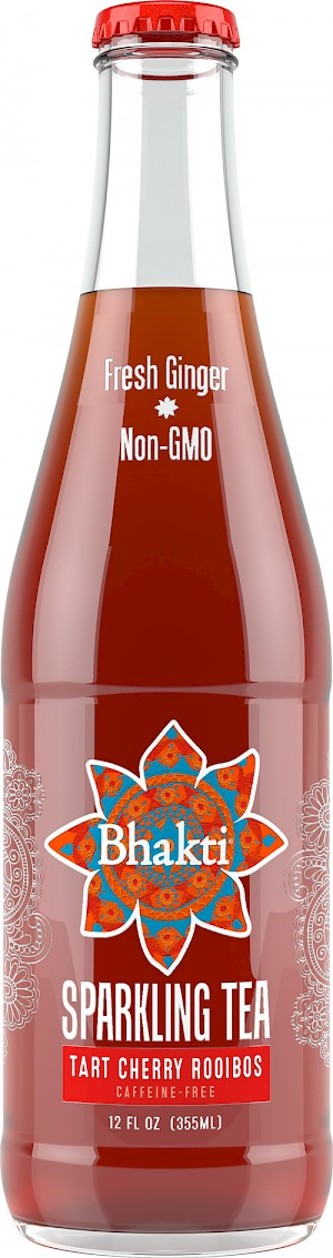 Bhakti Sparkling Tea Tart Cherry Rooibos is a HIT!